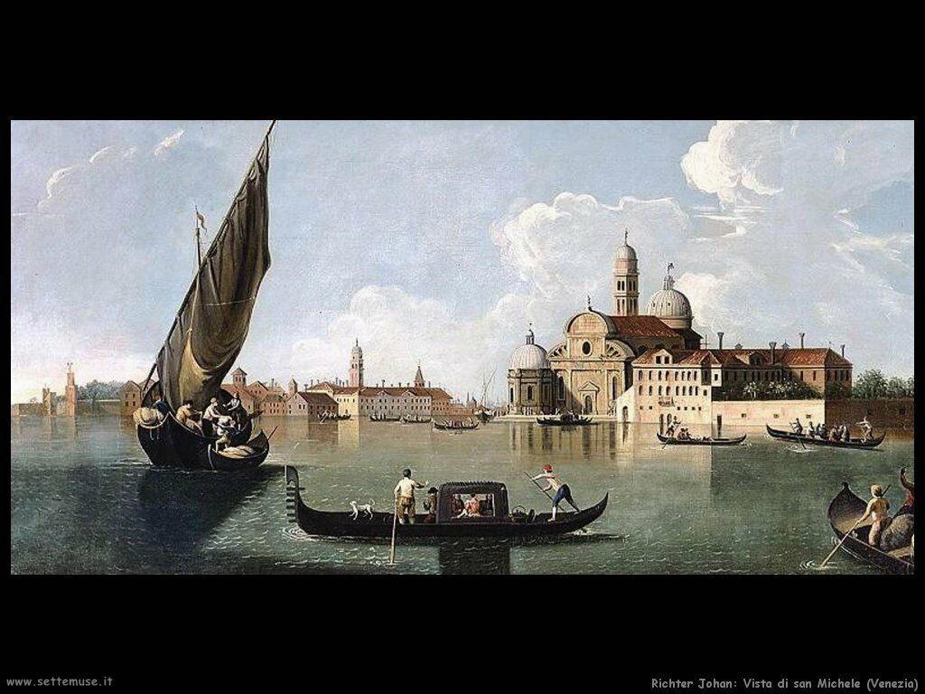 richter_johan_Vista di san Michele Venezia