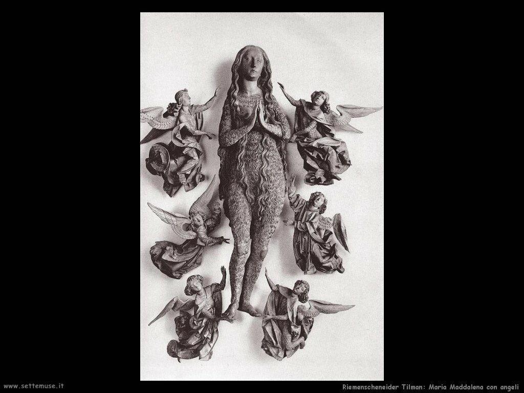riemenschneider tilman Maria Maddalena con due angeli