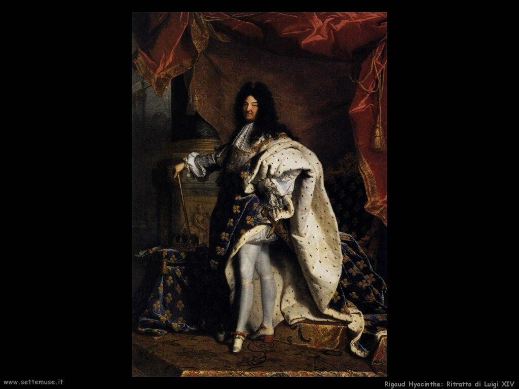 rigaud hyacinthe Ritratto di Luigi XIV