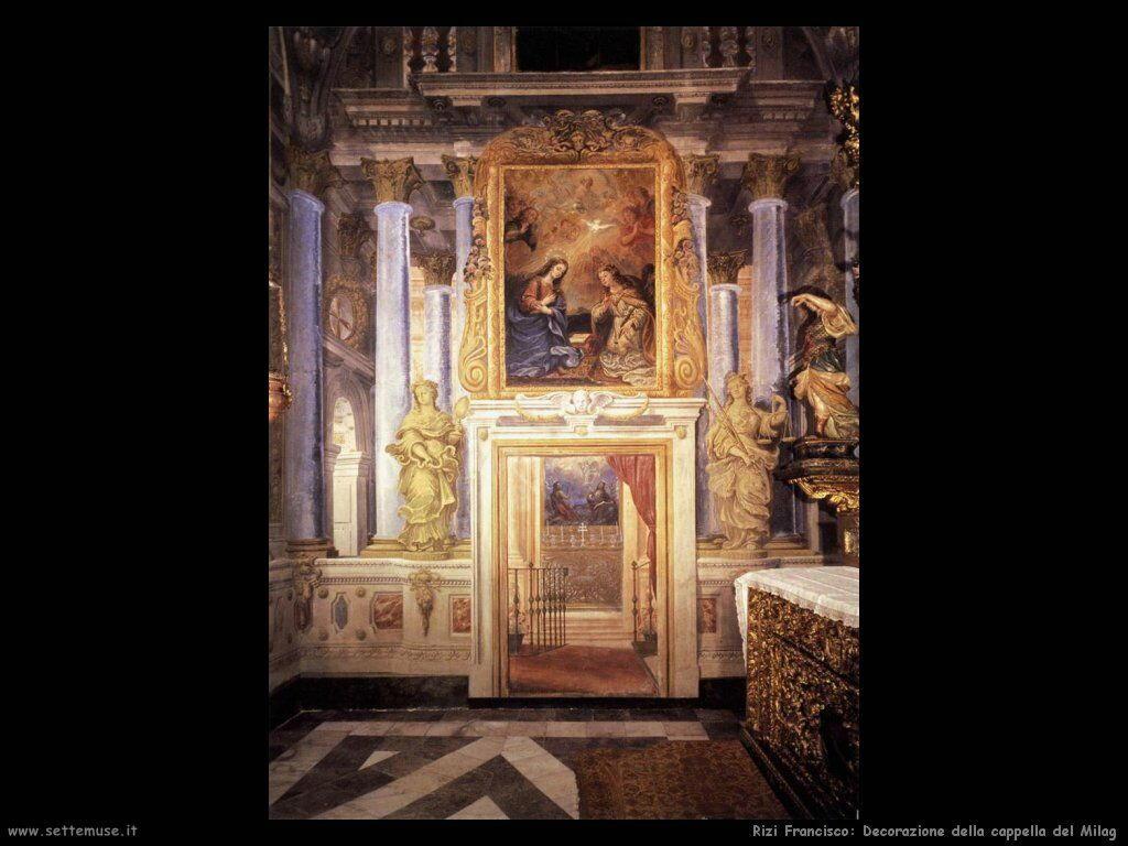 rizi_francisco Decorazione della cappella del Milag
