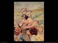Rochegrosse Georges Antoine Il cavaliere dei fiori (particolare)