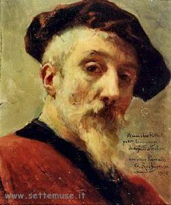 Autoritratto di Rochegrosse Georges-Antoine