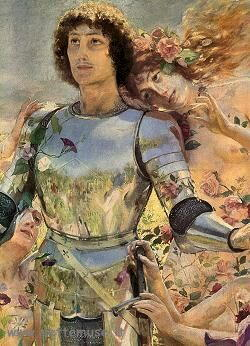 Dipinto di Rochegrosse Georges-Antoine