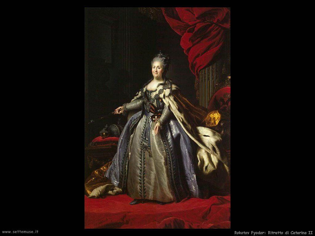 rokotov fyodor_Ritratto di Caterina II