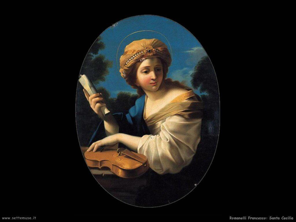 romanelli francesco Santa Cecilia