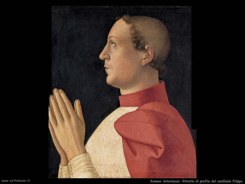 romano antoniazzo Ritratto del cardinale Philippe