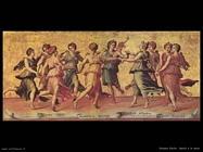 Romano Giulio Apollo e le Muse