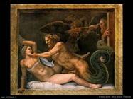 Romano Giulio Giove seduce Olimpiade
