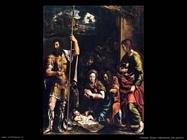 Romano Giulio Adorazione dei pastori