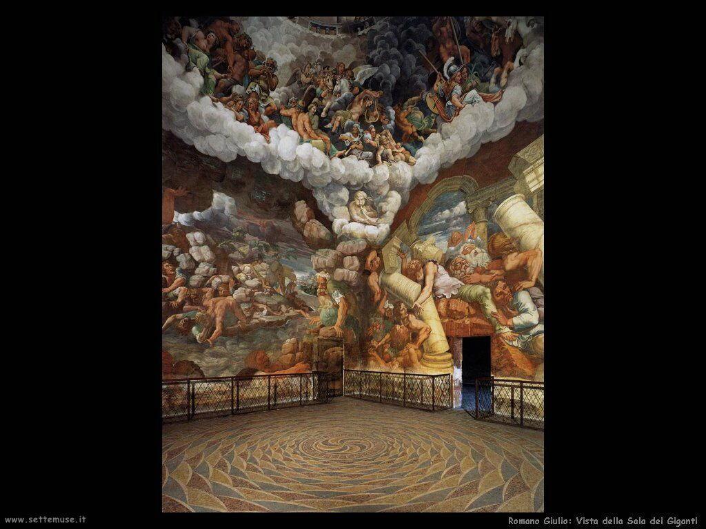 romano giulio Visita della sala dei giganti