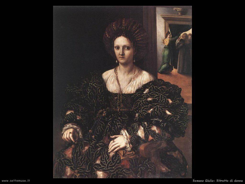 romano giulio Ritratto di una donna