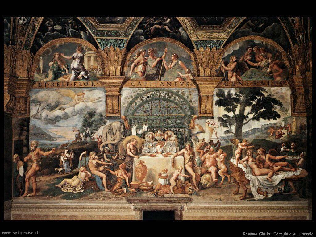 romano giulio Tarquinio e Lucrezia