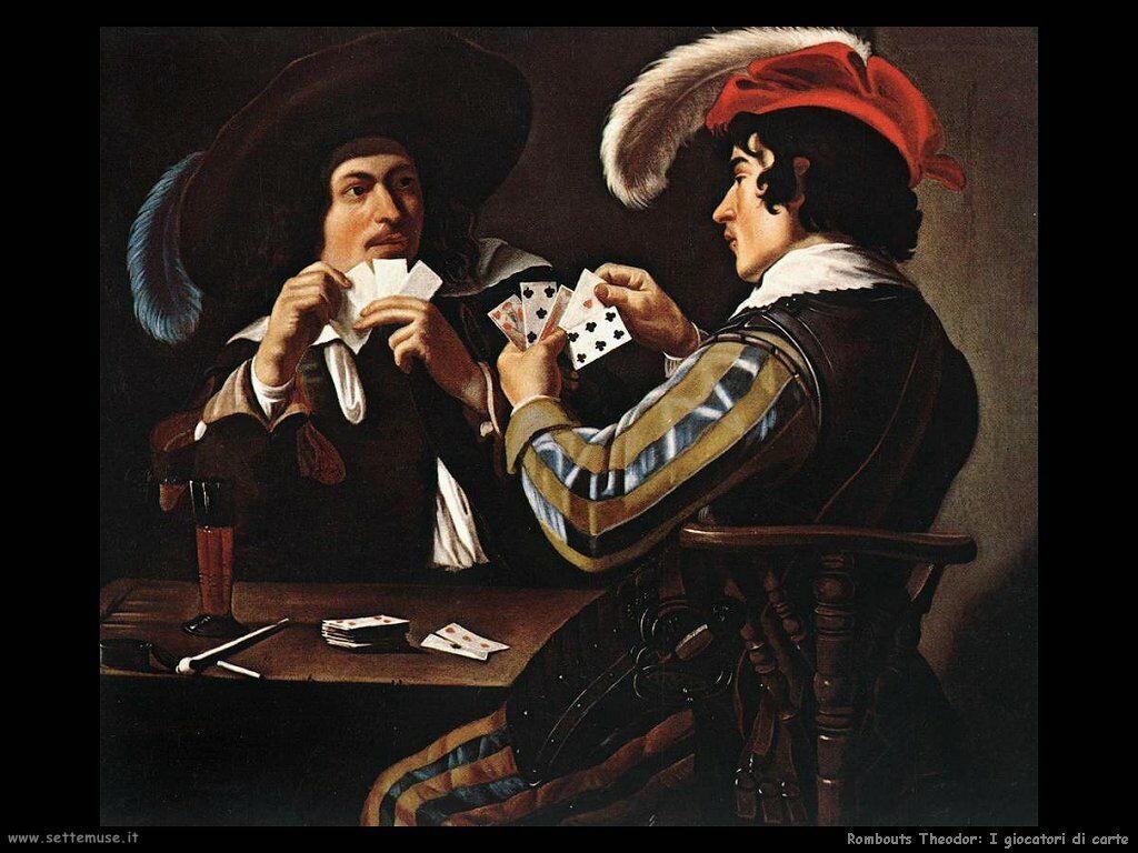 rombouts theodor Giocatori di carte