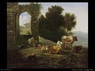 romeijn_willem_Paesaggio in stile italiano