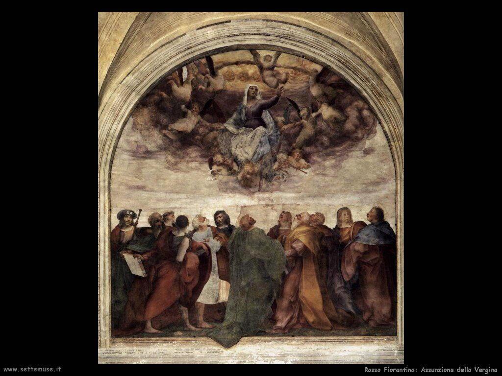 Rosso Fiorentino Assunzione della Vergine