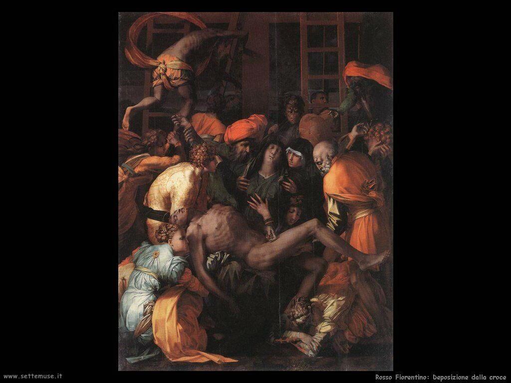 Rosso Fiorentino Deposizione dalla croce