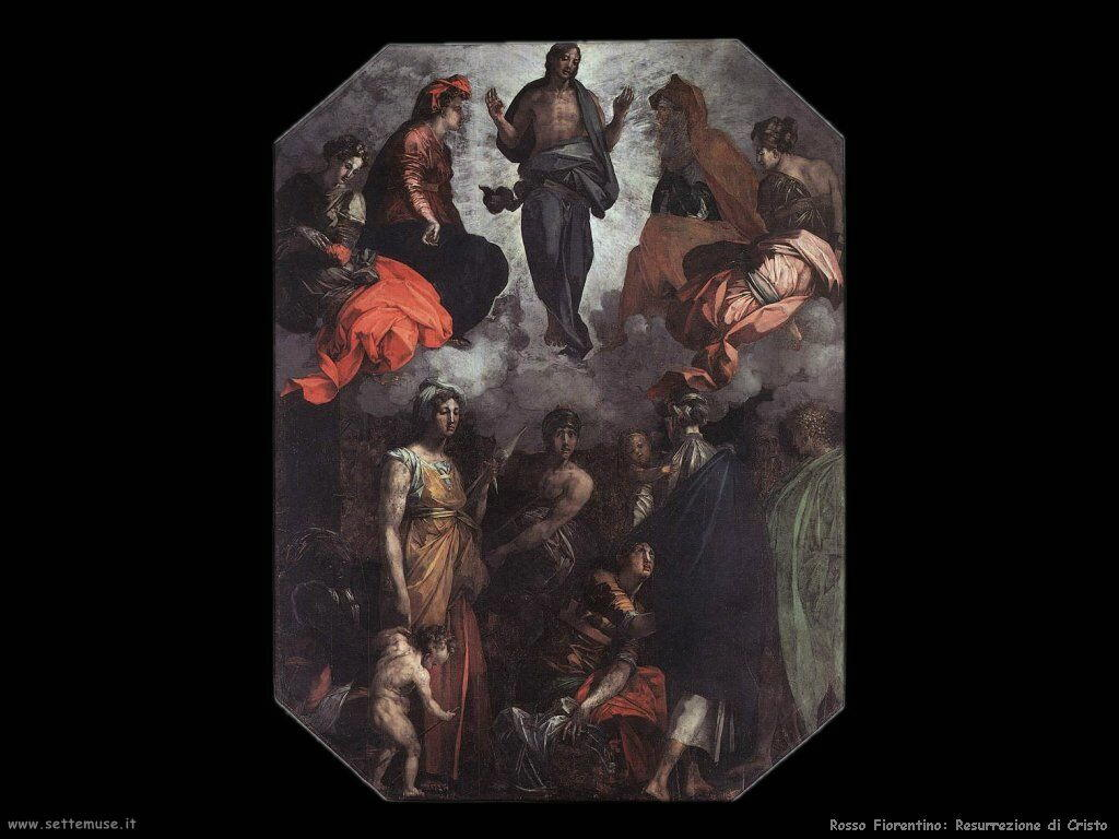 Rosso Fiorentino Cristo risorto