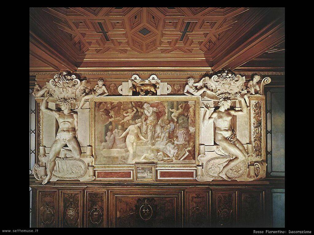 Decorazione Delle Pareti Opere Darte : Rosso fiorentino giovanni battista di jacopo pittore