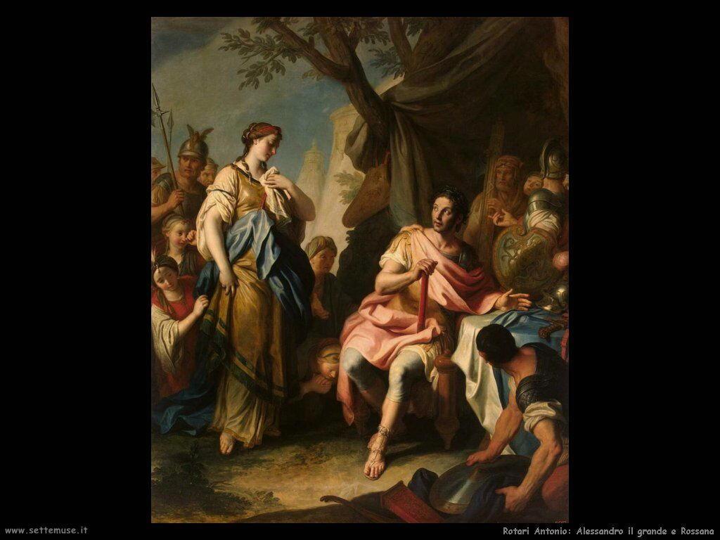 Rotari Pietro Antonio Alessandro Il Grande e Rossana