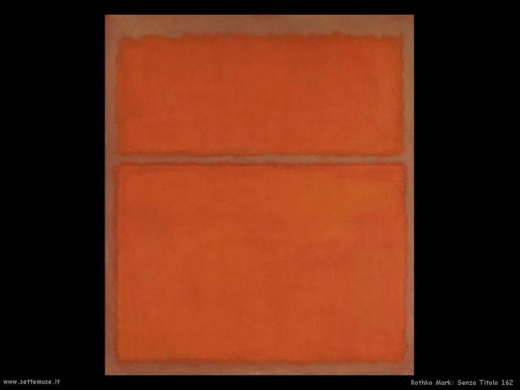 Rothko Mark Senza Titolo 162