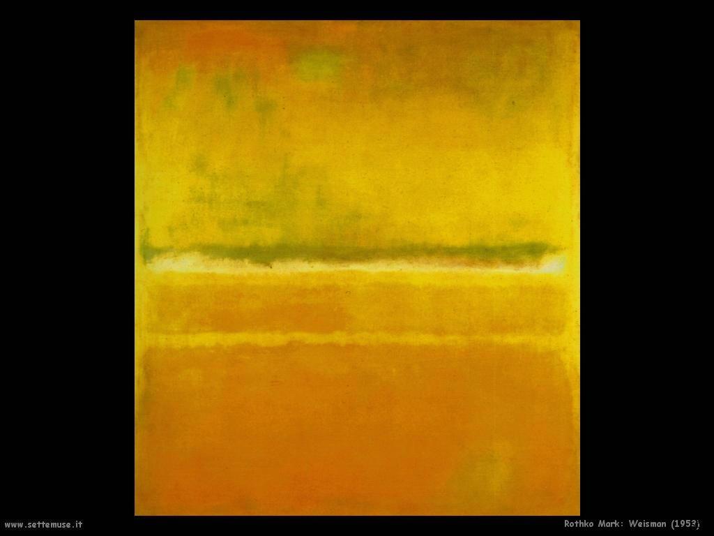 Rothko Mark Weisman (1953)