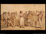 Rowlandson Thomas Selling a wife