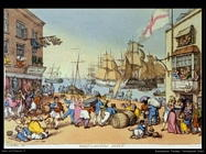 Rowlandson Thomas Portsmouth point