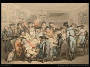Rowlandson Thomas The subscriptions club room 1791