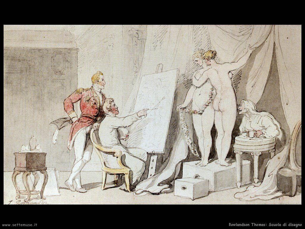 Rowlandson Thomas Scuola di disegno