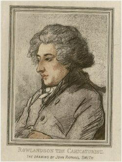 Autoritratto di Rowlandson Thomas
