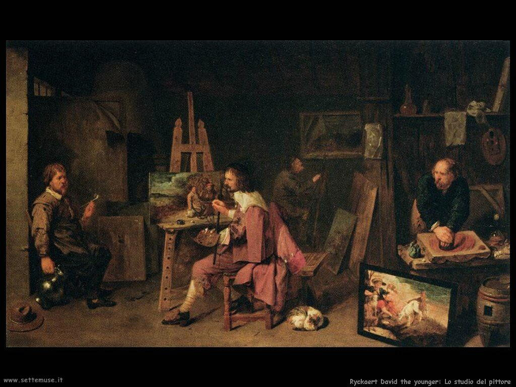 Ryckaert David the Younger Studio dell'artista