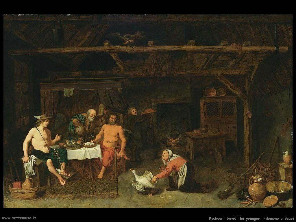 Ryckaert David the Younger Filemone e Bauci