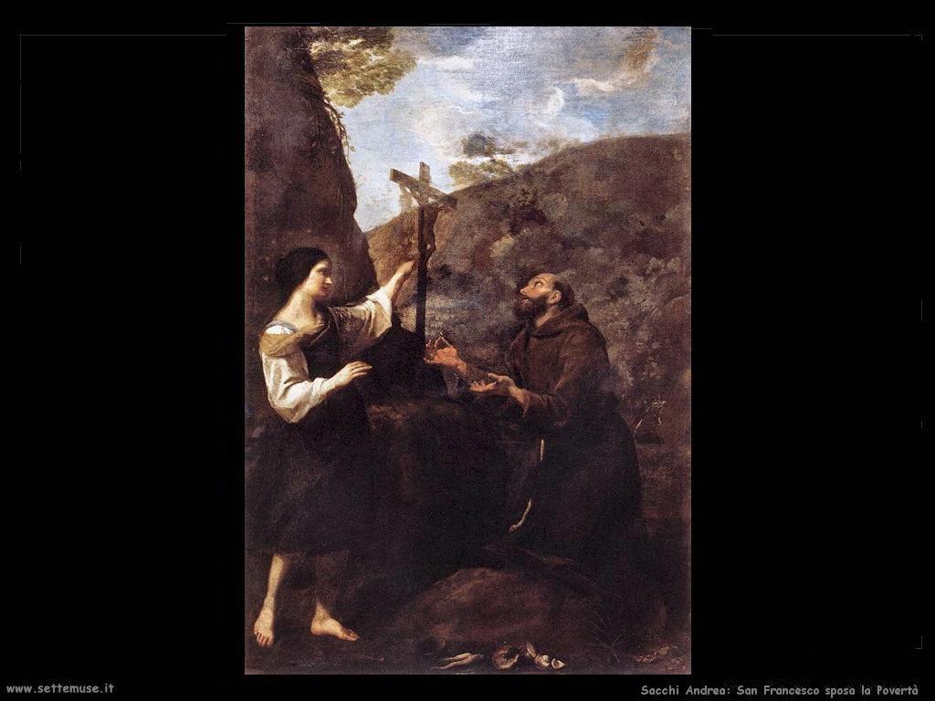 Sacchi andrea San Francesco sposa la Povertà