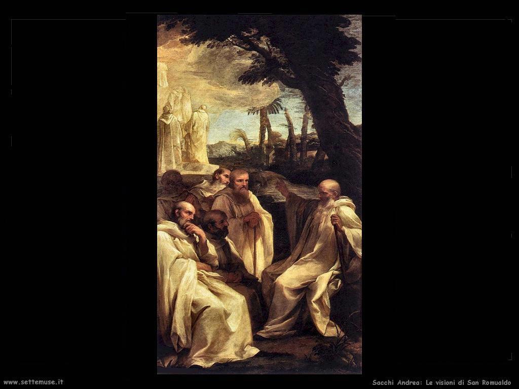 Sacchi andrea La visione di San Romualdo