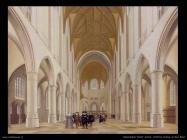 Saenredam Pieter Jansz Interno Chiesa di San Bvo