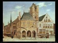 Saenredam Pieter Jansz Vecchio Municipio ad Amsterdam