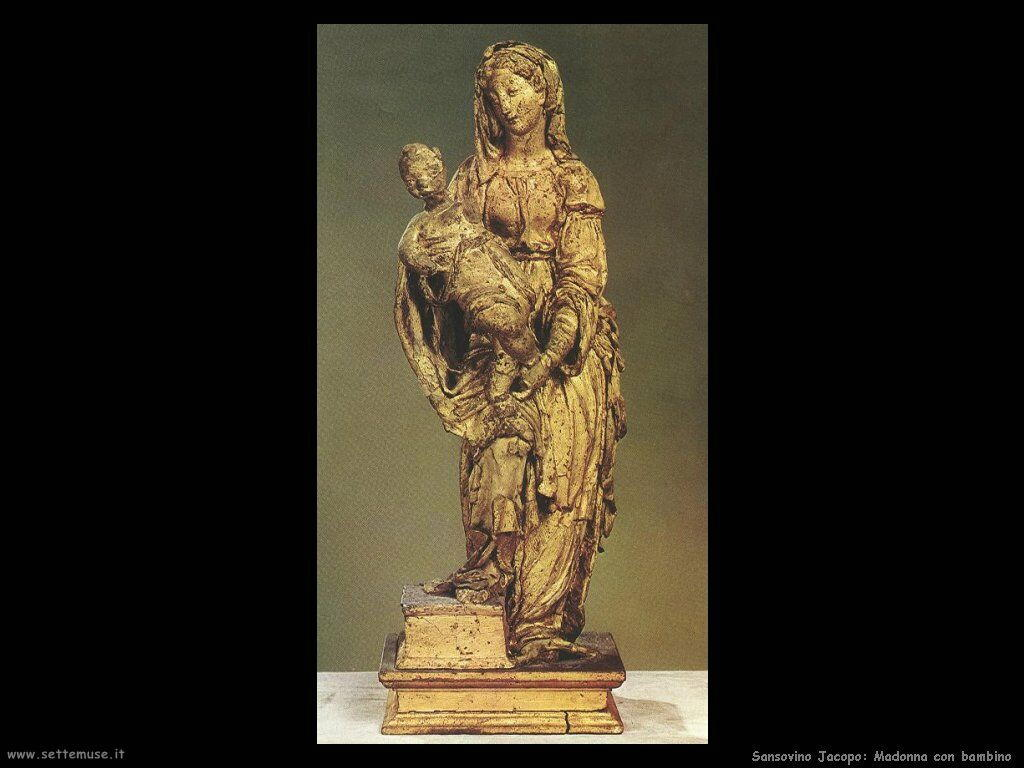 Sansovino Jacopo Madonna e Bambino