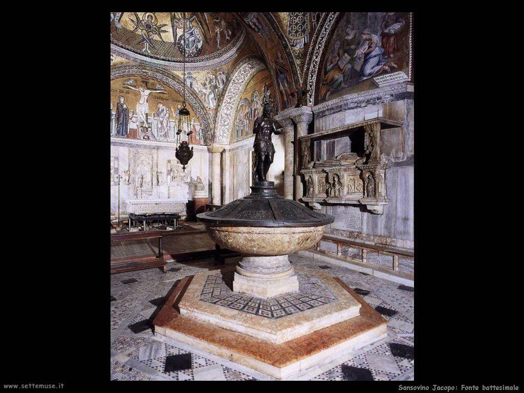Sansovino Jacopo Fonte Battesimale