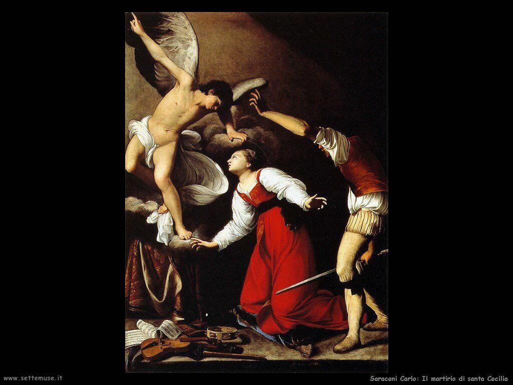 Saraceni Carlo Il martirio di Santa Cecilia