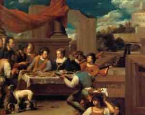 Pittura di Carlo Saraceni Il Veneziano