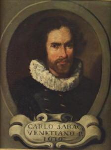 Autoritratto di Carlo Saraceni Il Veneziano