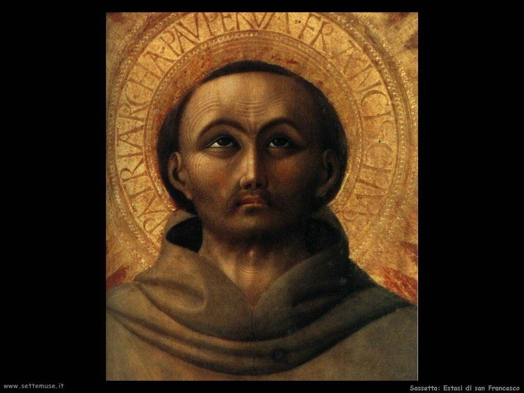 Sassetta L'estasi di San Francesco