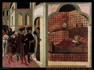 Sassetta Il beato Raniero di  San Sepolcro in sogno