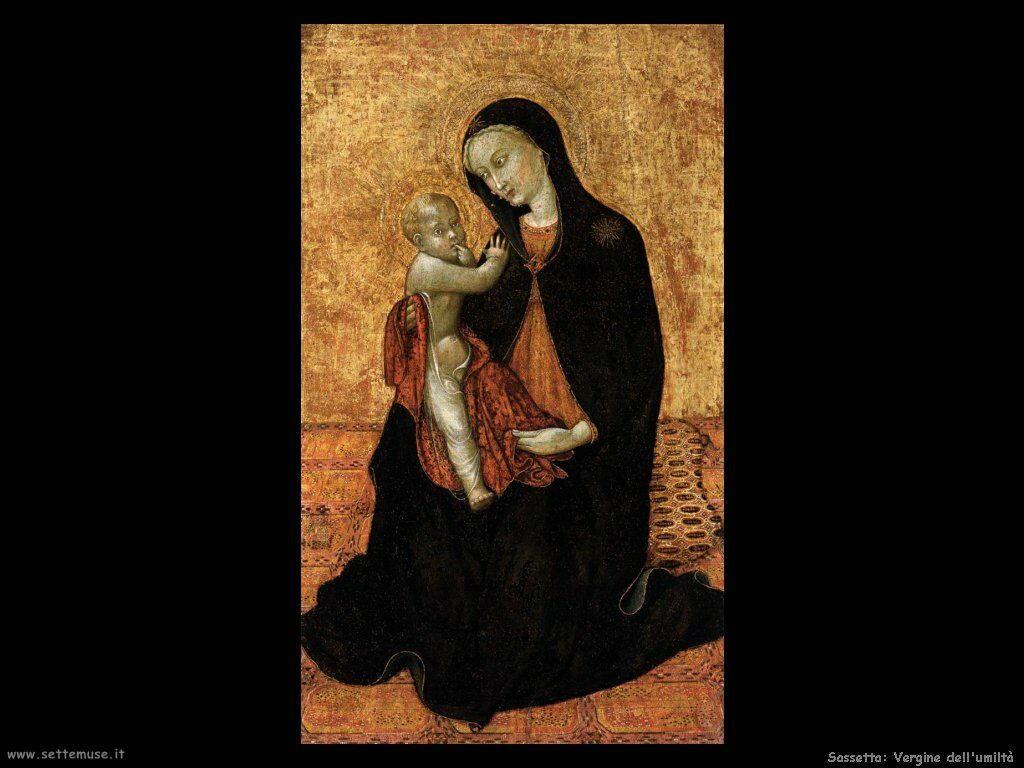 Sassetta Vergine dell'umiltà