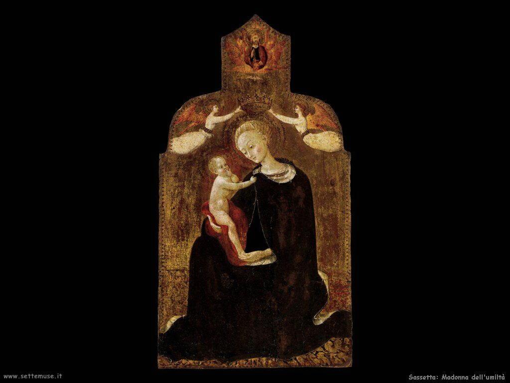 Sassetta Madonna dell'umiltà