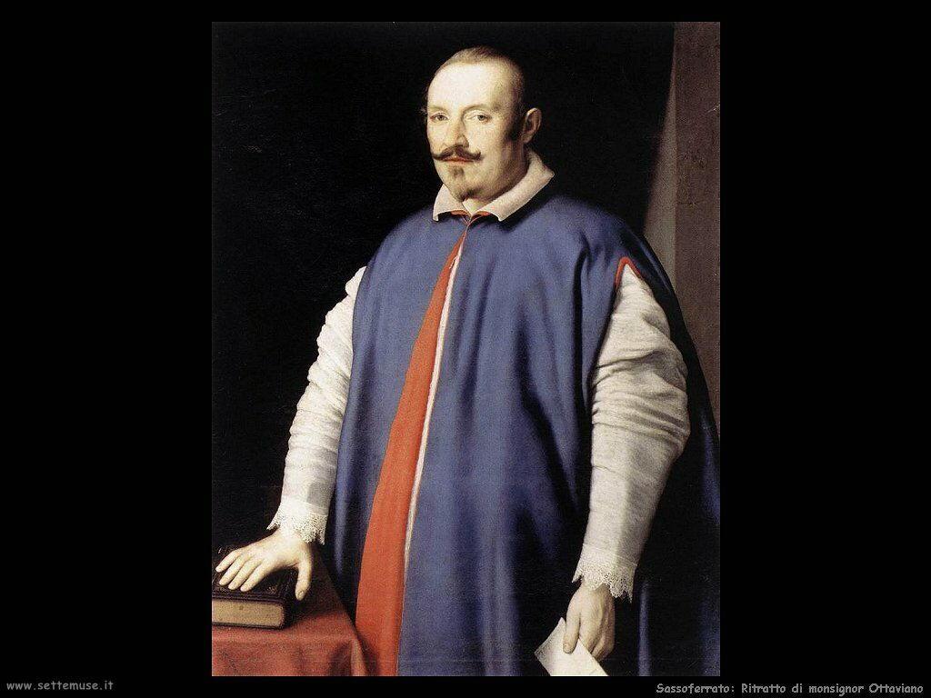 Sassoferrato Ritratto di Monsignor Ottaviano