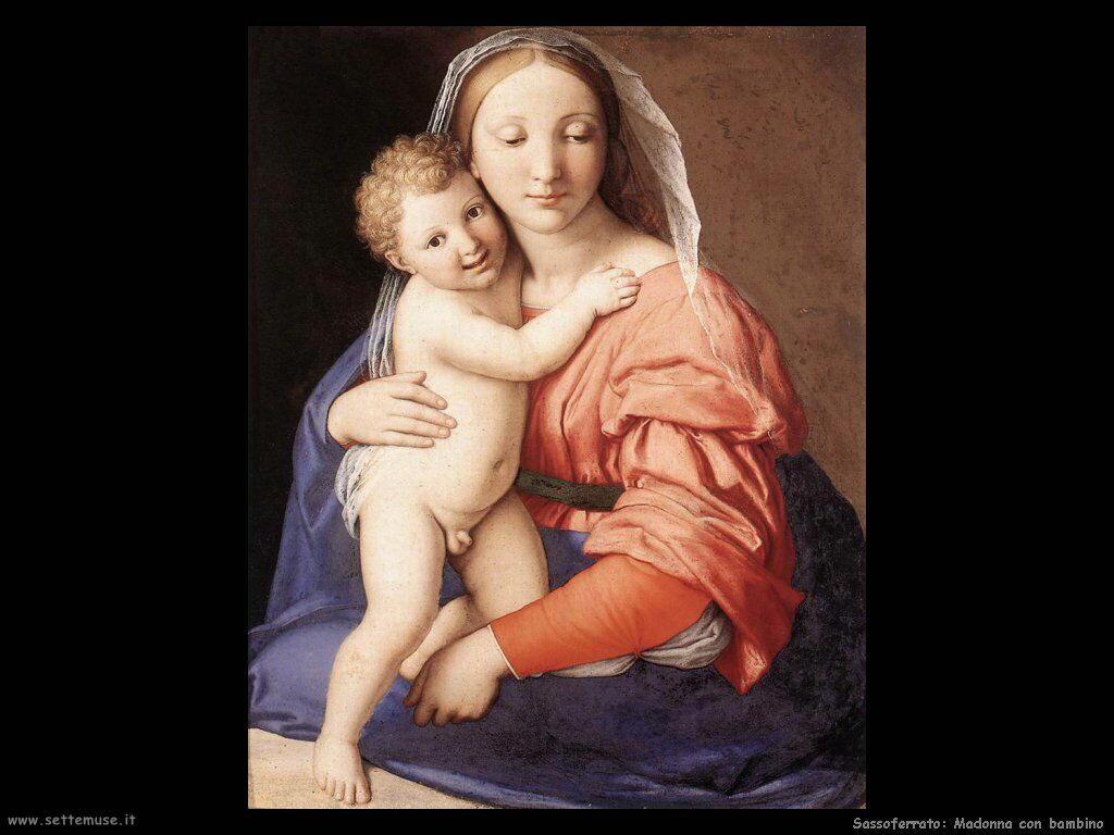 Sassoferrato Madonna e Bambino