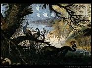 Savery Roelandt Paesaggio con uccelli (dettaglio)