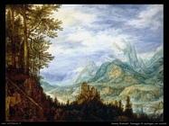 Savery Roelandt Paesaggio con castello