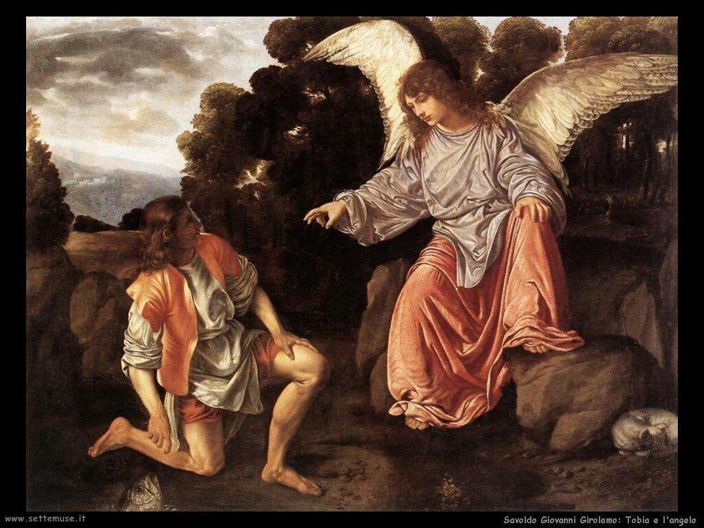 Savoldo Giovanni Girolamo Tobia e l'Angelo